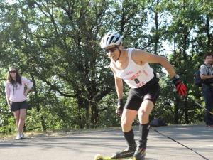 El amigo Fer de Madrid, uno de los habituales e imprescindibles del mundillo del esquí y rollerski