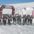 Salida de los txikis. Foto: Arantxa Pérez.Irrintzi Ski