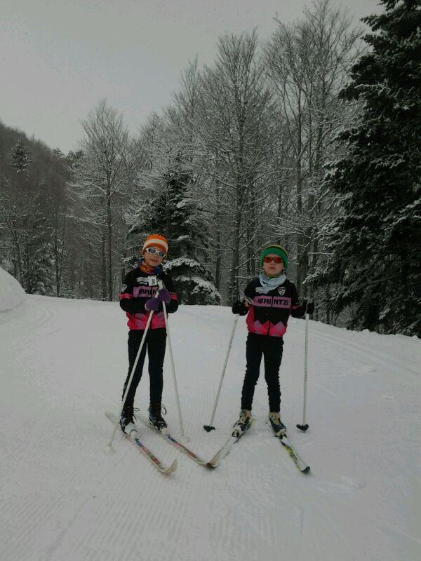 Futuras figuras del esquí de fondo.