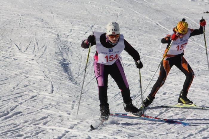 Landertinger, mucha clase sobre los skis