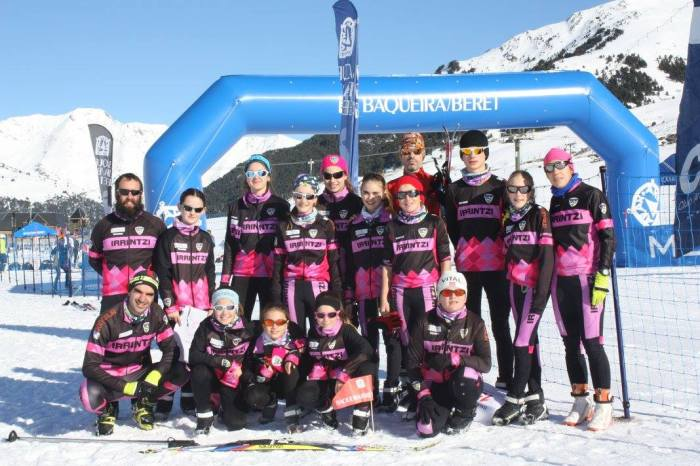 Irrintzi Ski en la Naut Aran Skating 2014