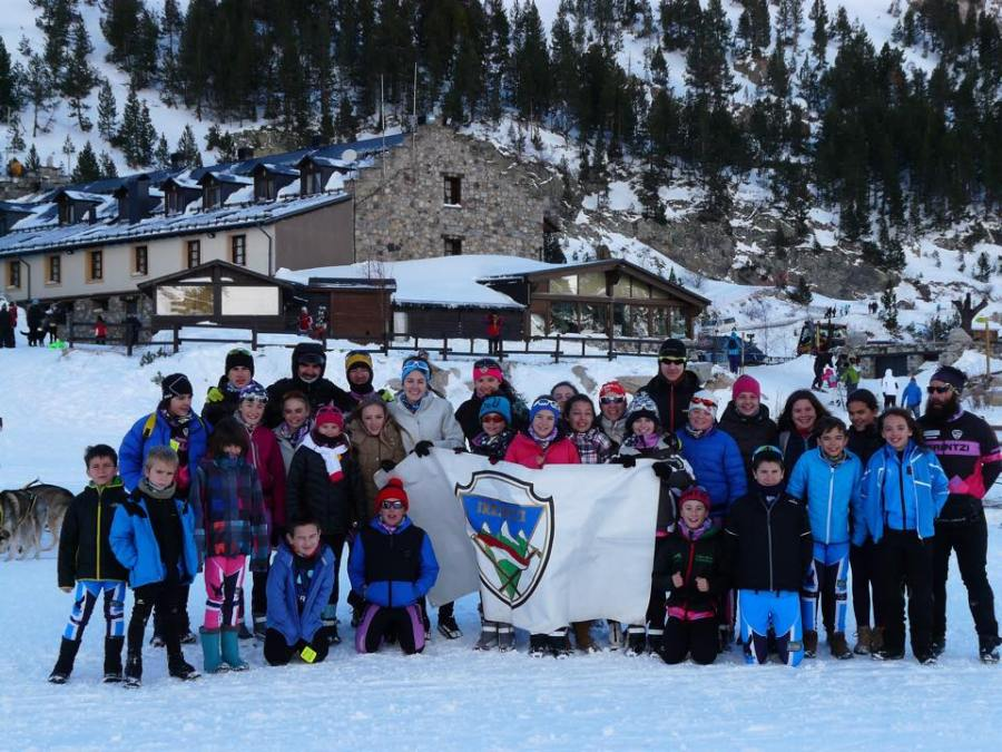 Foto de hermanamiento Irrintzi Ski-Pronordics